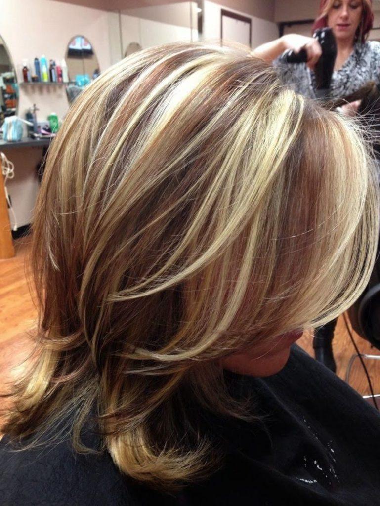 Способы ухода за мелированными волосами
