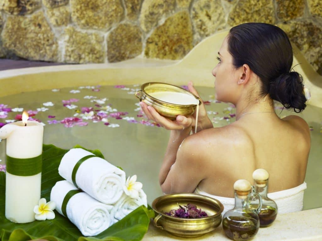 Ванны с эфирными маслами для похудения