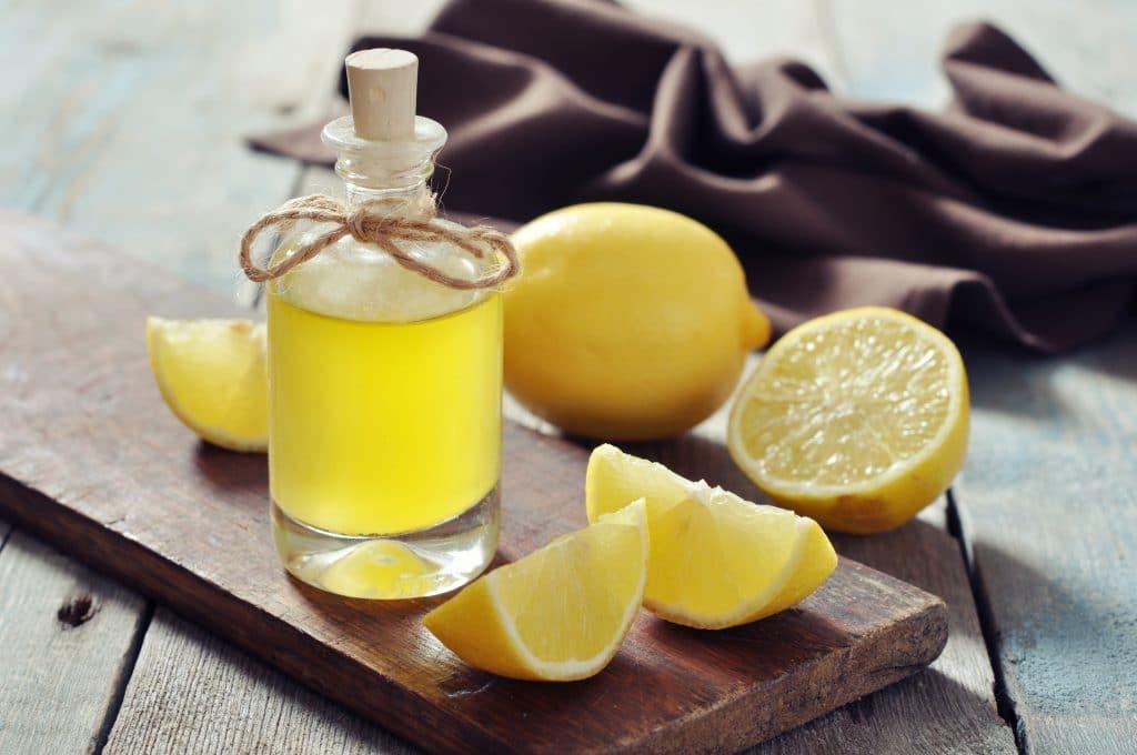 Получение лимонного масла