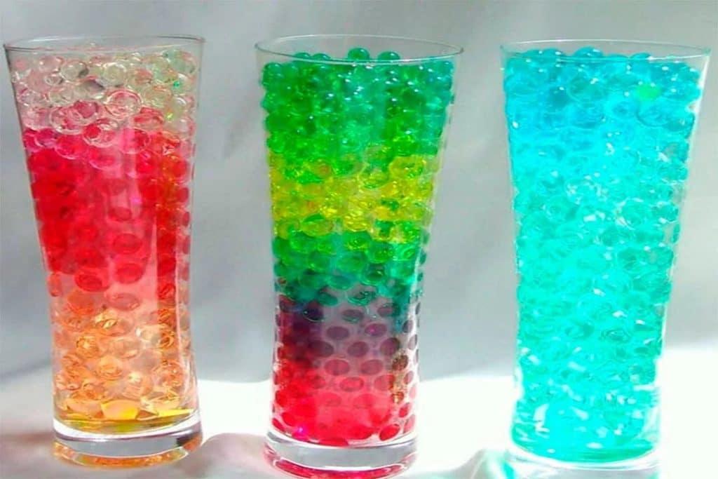 Гидрогелиевые шарики