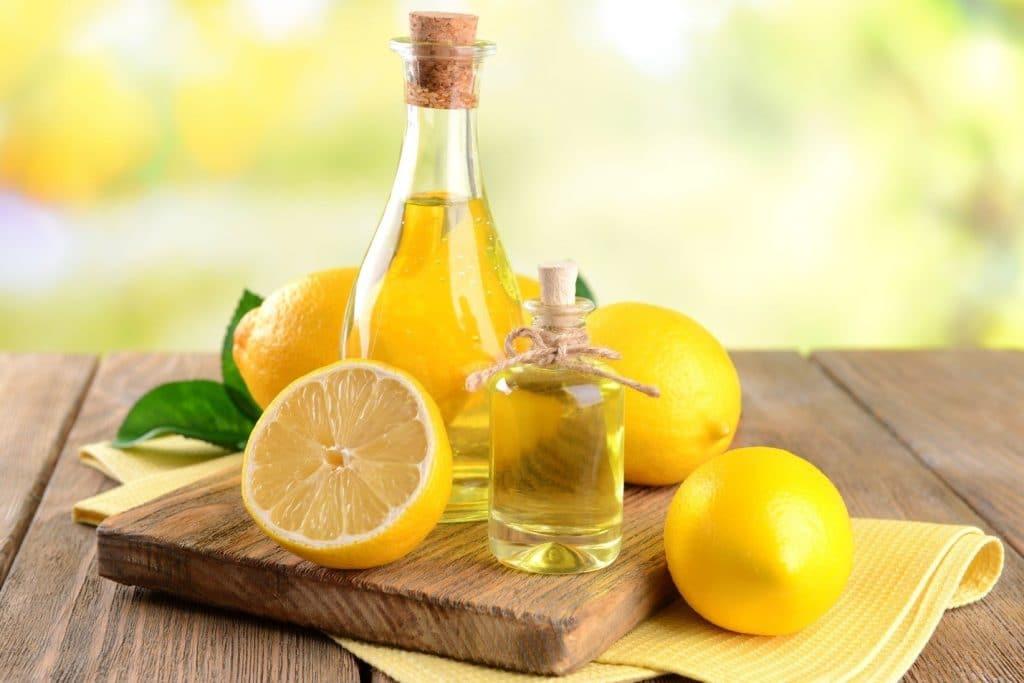 Использование лимонного масла