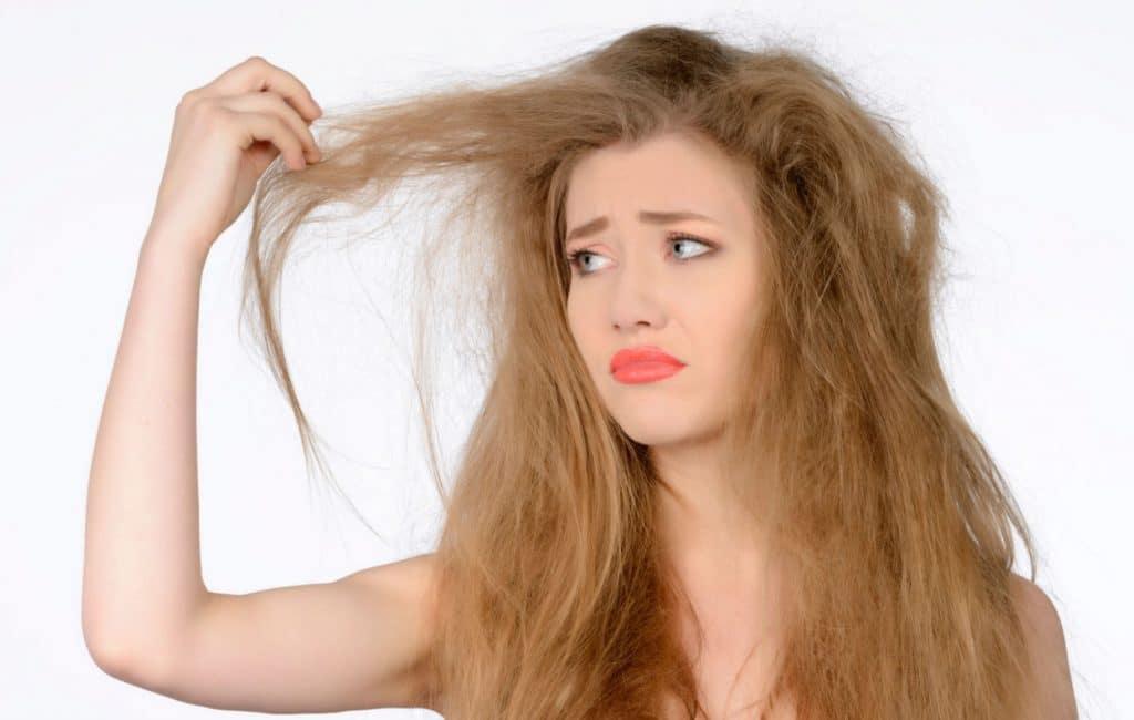 Сухие и повреждённые волосы