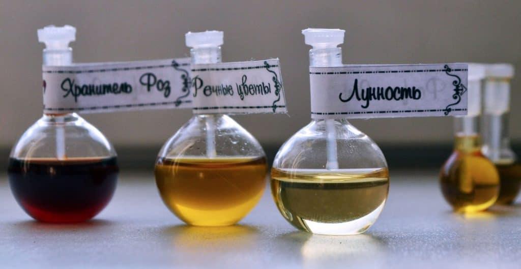 Натуральный парфюм ручной работы