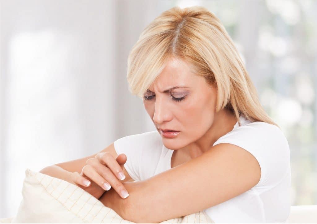 Лечение сухой и огрубевшей кожи