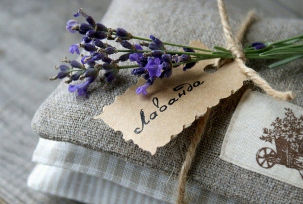 Лаванда для ароматизации белья