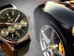 Имидж и стиль каждого спортсмена это швейцарские часы Ferrari