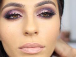 Как сделать макияж глаз дома?